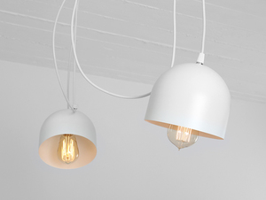 Hanging lamp POPO 4 - white small 3
