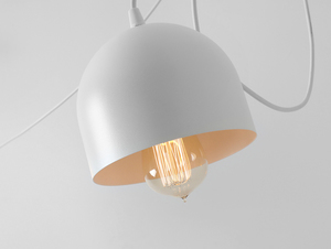 Hanging lamp POPO 4 - white small 4