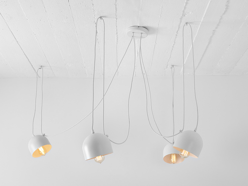 Hanging lamp POPO 4 - white