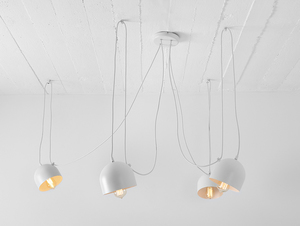 Hanging lamp POPO 4 - white small 0