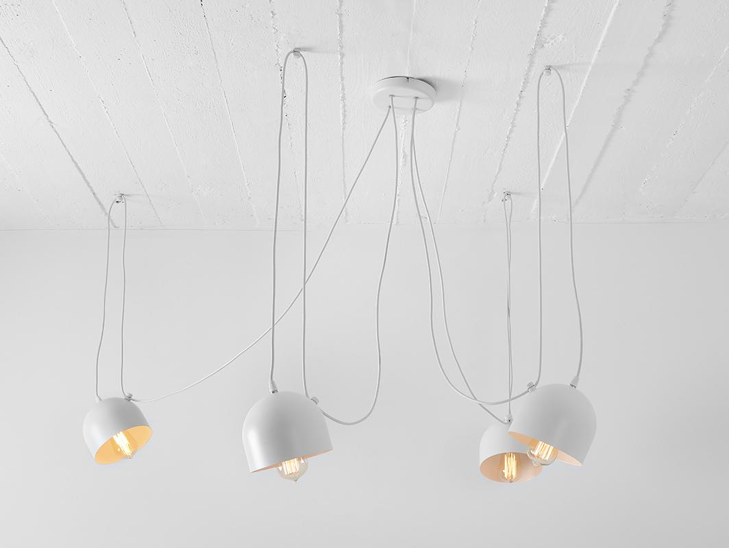 Hanging lamp POPO 4 - white