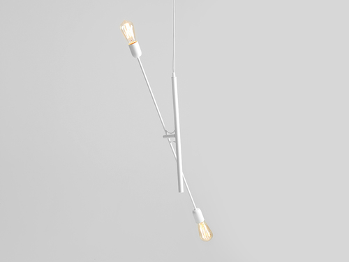 TWIGO 2 hanging lamp - white