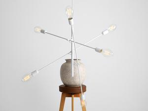 TWIGO 6 hanging lamp - white small 1