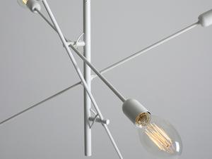 TWIGO 6 hanging lamp - white small 4