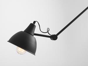 COBEN SUSPENSION hanging lamp - black small 4