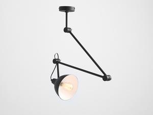 COBEN SUSPENSION hanging lamp - black small 0