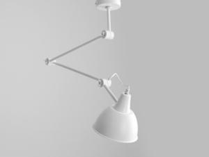 Hanging lamp COBEN SUSPENSION - white small 0