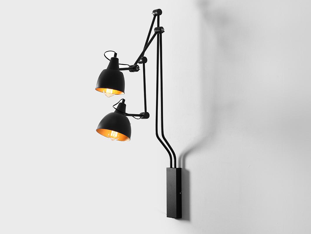 COBEN WALL 2 wall lamp - black