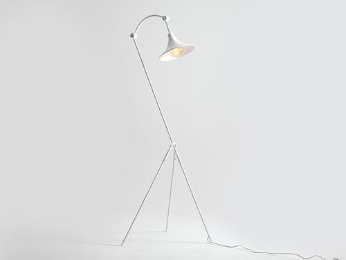 MILLER FLOOR floor lamp - white