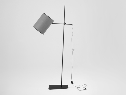 HOBBIT FLOOR I floor lamp - gray