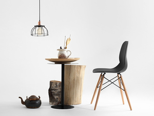 WORKER FAT hanging lamp - black small 1