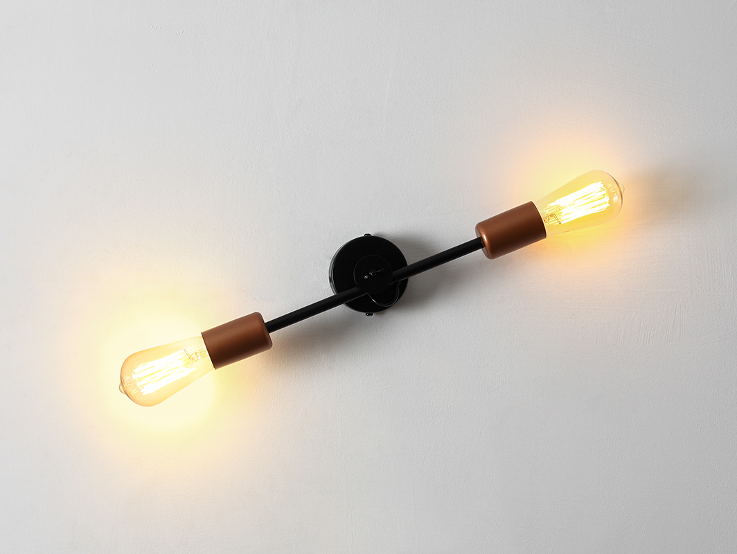 SECTO WALL wall lamp - black
