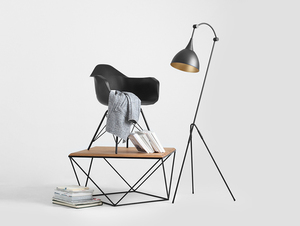 DEBY FLOOR floor lamp - black small 2