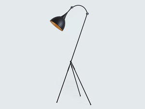 DEBY FLOOR floor lamp - black small 3
