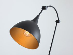 DEBY FLOOR floor lamp - black small 4