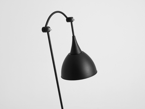 DEBY FLOOR floor lamp - black