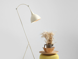 DEBY FLOOR floor lamp - cream small 1