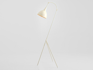 DEBY FLOOR floor lamp - cream small 3