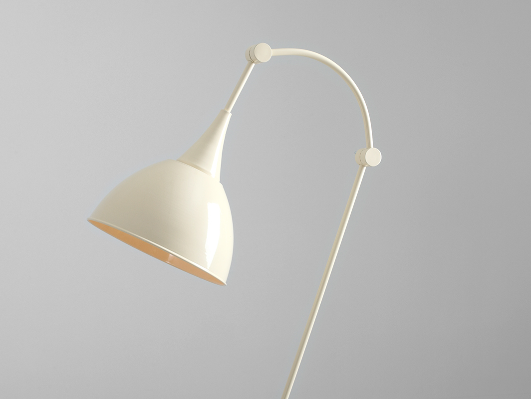 DEBY FLOOR floor lamp - cream