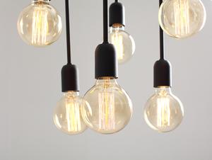 VANWERK TALL pendant lamp - black small 4