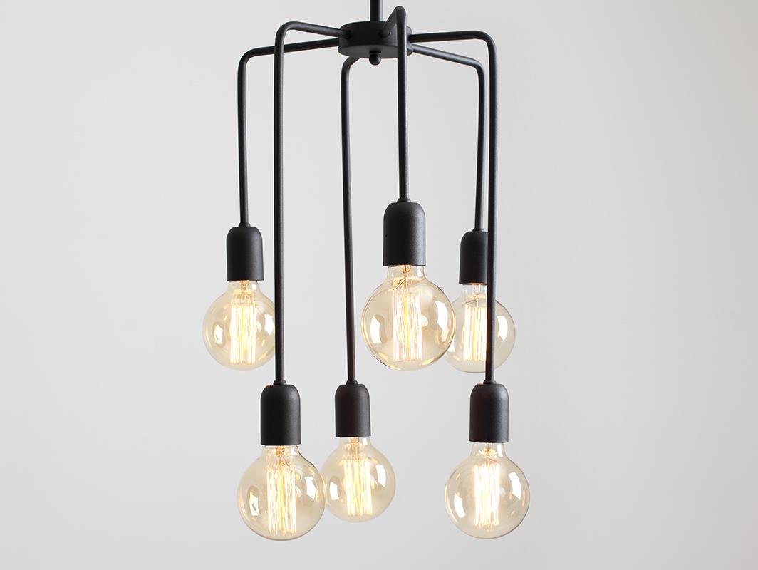 VANWERK TALL pendant lamp - black