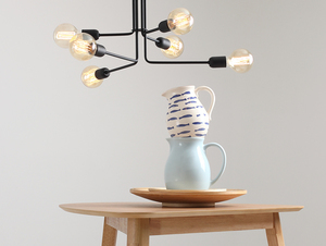 VANWERK 29 hanging lamp - black small 1