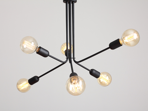 VANWERK 51 hanging lamp - black