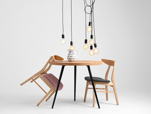 Hanging lamp SPINNE 7 - black small 2