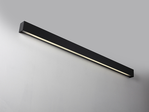 LINE WALL LED L wall lamp - graphite