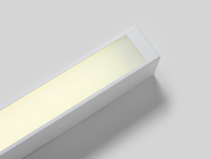 LINE LED M ceiling lamp - white small 4