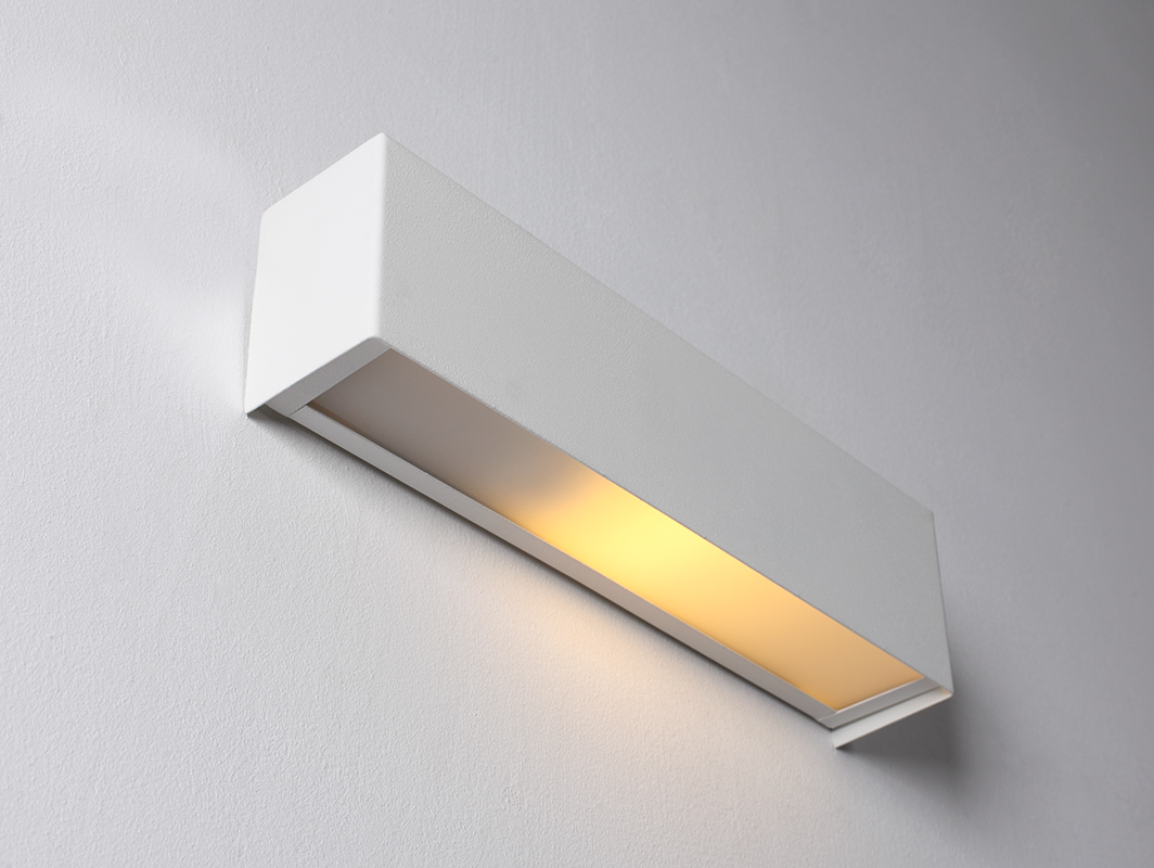 LINE WALL LED S wall lamp - white