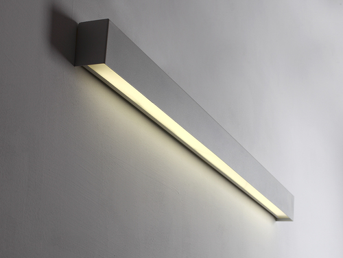 LINE WALL LED L wall lamp - white