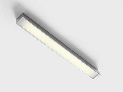 LINE LED S ceiling lamp - silver