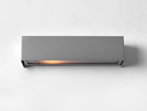 LINE WALL LED S wall lamp - silver