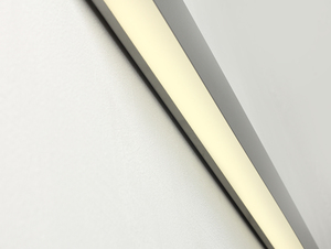 LINE WALL LED L wall lamp - silver small 3