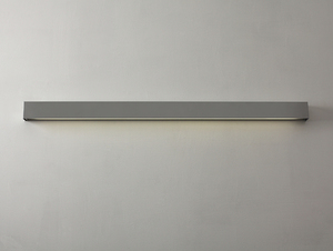 LINE WALL LED L wall lamp - silver small 4