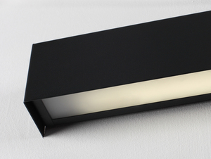 LINE WALL LED M wall lamp - graphite small 4
