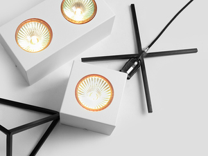 Ceiling lamp FLASS 1 - white small 1