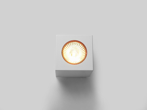 Ceiling lamp FLASS 1 - white small 3