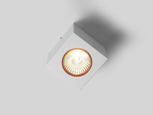 Ceiling lamp FLASS 1 - white small 0