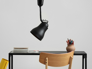 Hanging lamp GLOBO - black small 1