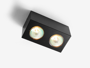 Ceiling lighting fixture FLASS 2 - black small 3