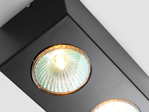 Ceiling lighting fixture FLASS 2 - black small 4