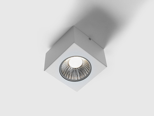 FLASS 1 LED ceiling light - white small 0