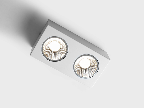FLASS 2 LED ceiling light - white