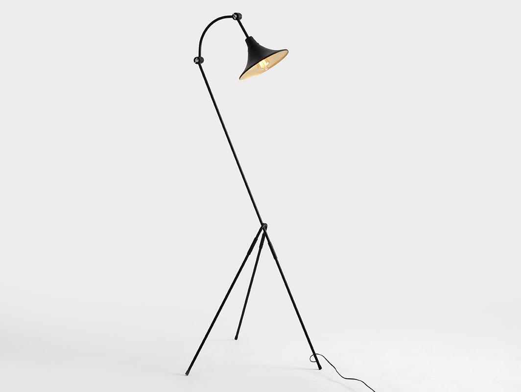 MILLER FLOOR floor lamp - black