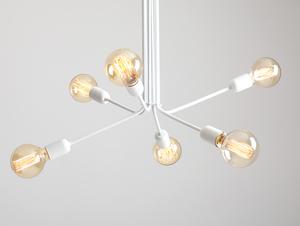 VANWERK 51 hanging lamp - white small 3