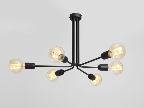 Lampa wisząca VANWERK 41 - czarny