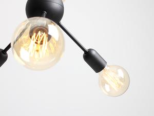 VANWERK BALL pendant lamp - black small 4