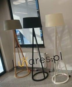 Konan floor lamp dąb bielony / anthracite / white E27 60W small 1
